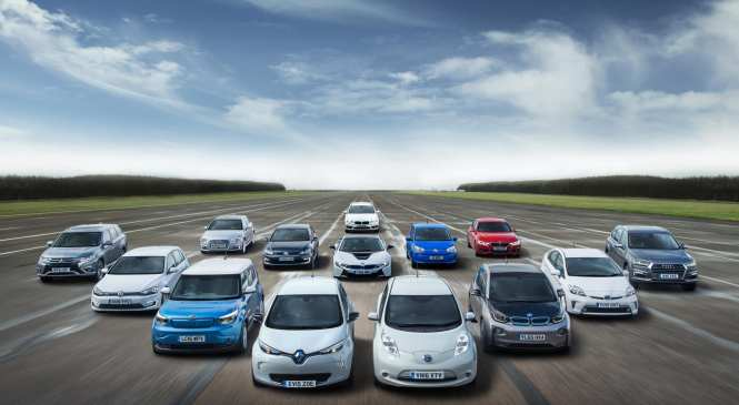 Growing UK car Parc includes record number of EVs