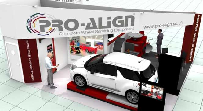 Pro-Align unveilings at Automechanika Birmingham