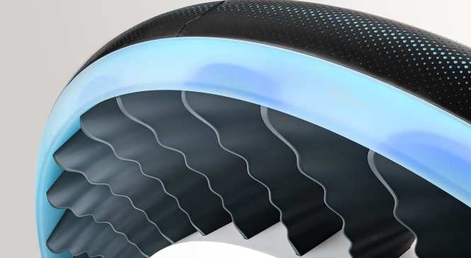 Tyre developed specifically for flying cars