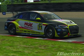 NGK backing eSeries racer