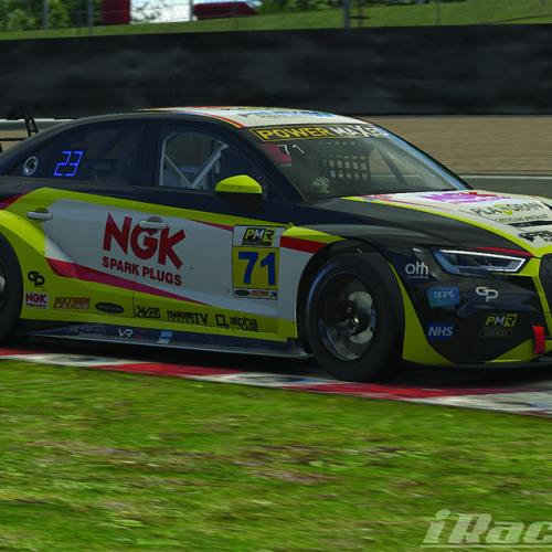 NGK backing eSeries racer
