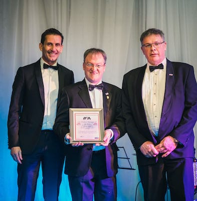 Tony Fyfe crowned IFA Car Product Manager of the Year