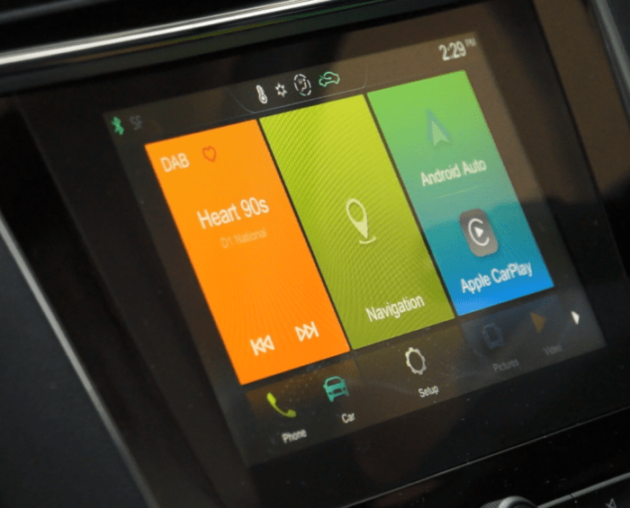 Study finds most distracting car infotainment system