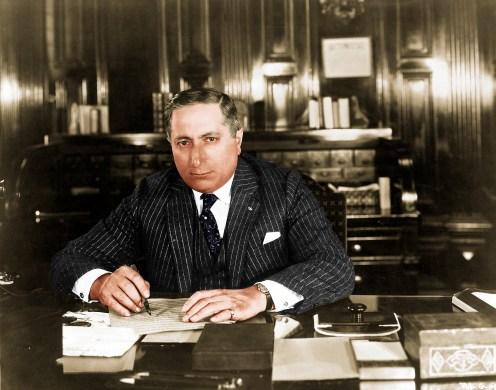 Louis B. Mayer, el capo.