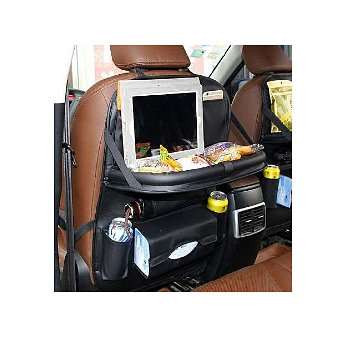 Get This Car Rear Seat Multi Pouches With Collapsible Tray