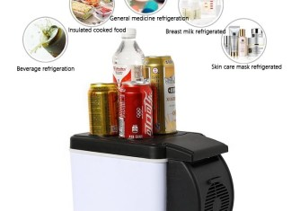 Take That Drink On The Go With Cooling & Warming Car Refrigerator