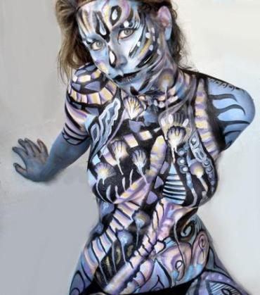 BodyPaint - Avatar Woman