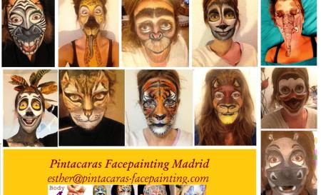Maquillaje Personajes Madagascar