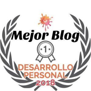 Distintivo premio mejor blog de desarrollo personal