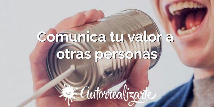 Comunica tu valor