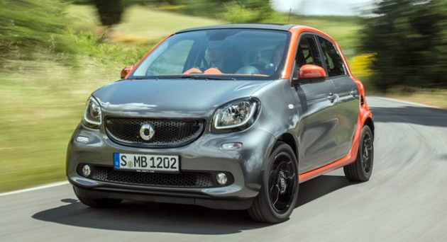 Smart ForTwo ForFour 2015