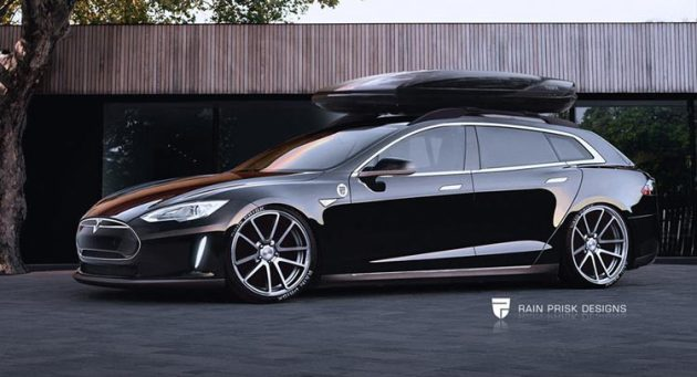 Tesla Model S Wagon