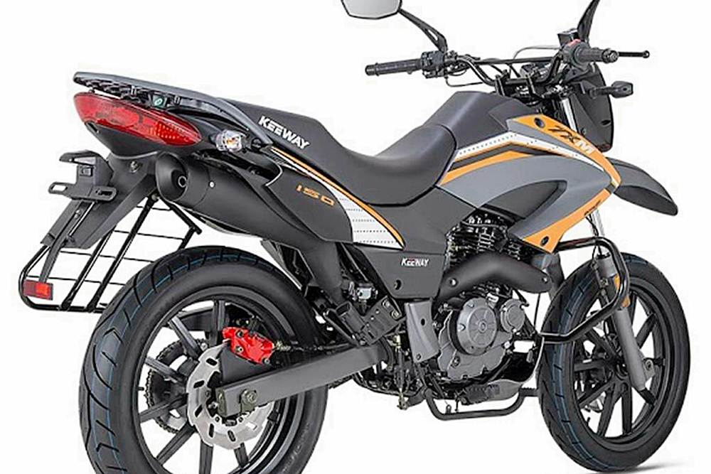 KeeWay TXM 150 Motorcycle Specification