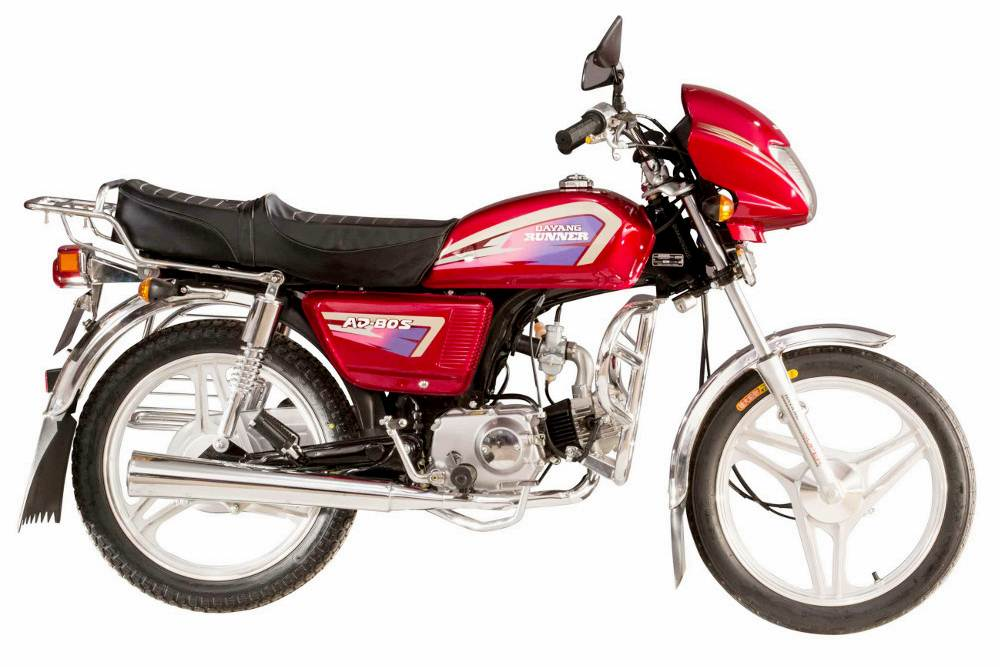Dayang Runner AD80S Alloy Motorcycle Specification