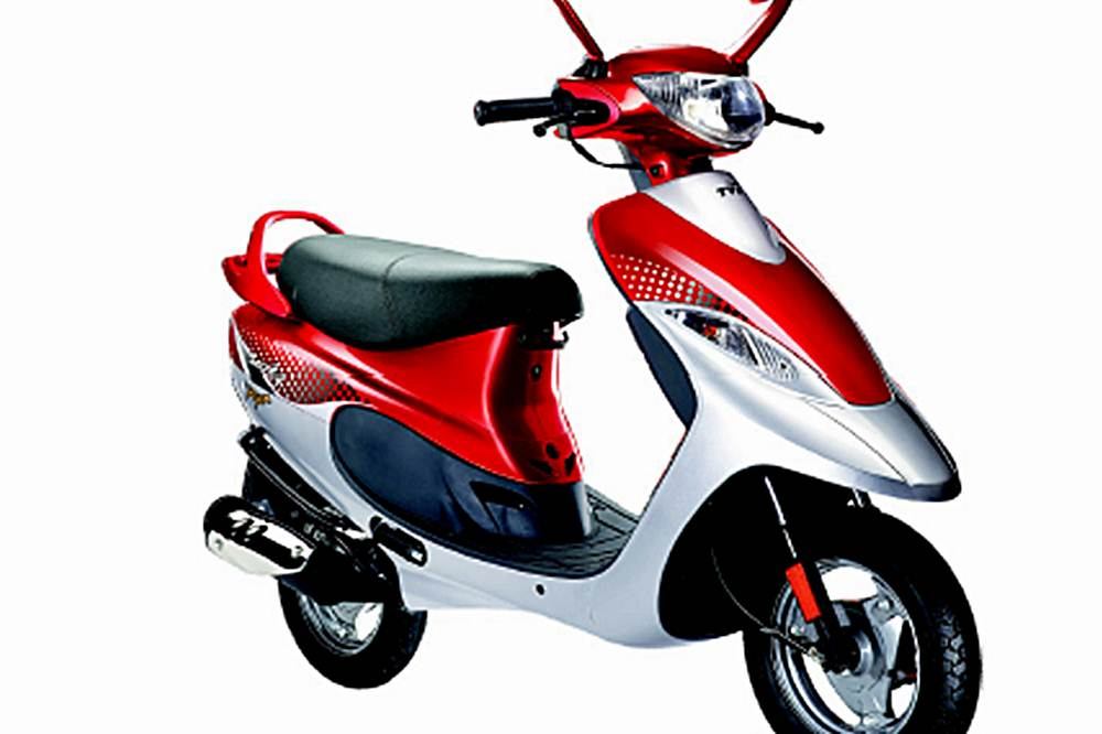 TVS Scooty Pep Plus Scooter Specification
