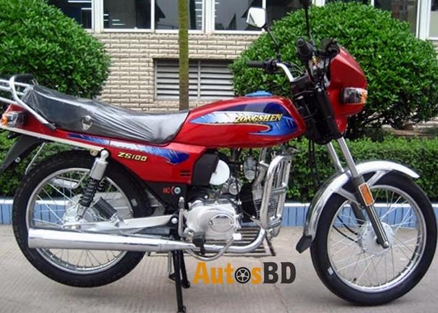 Zongshen ZS-100 Motorcycle Specification