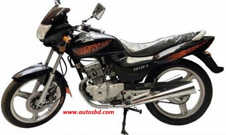 Zongshen CG-125-4 Motorcycle Specification
