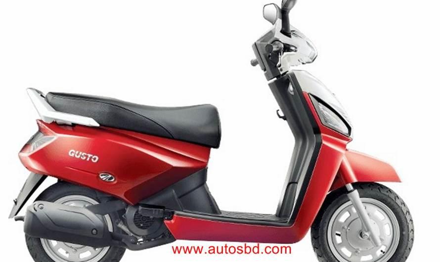 Mahindra Gusto Motorcycle Price in Bangladesh