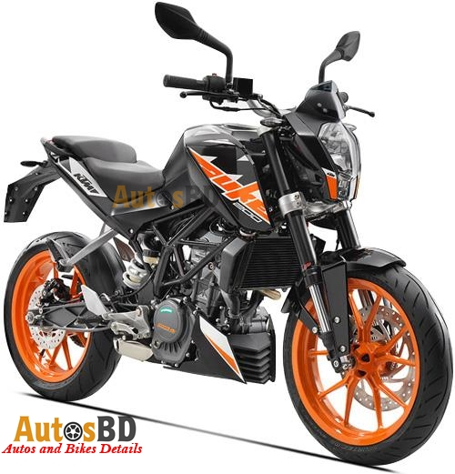 KTM 200 Duke (2017) Motorcycle Specification