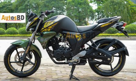 Yamaha FZS Fi Matte Green Motorcycle Specification