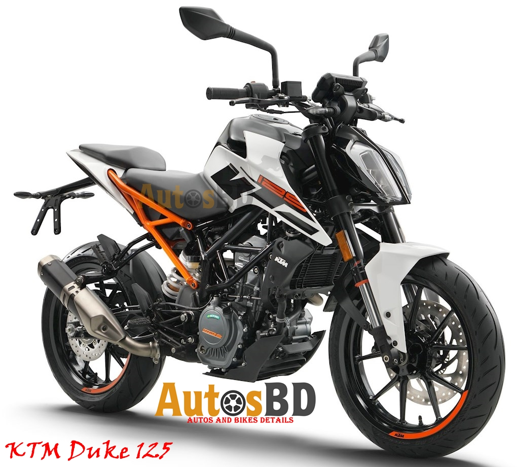 KTM Duke 125 2017 Motorcycle Specification