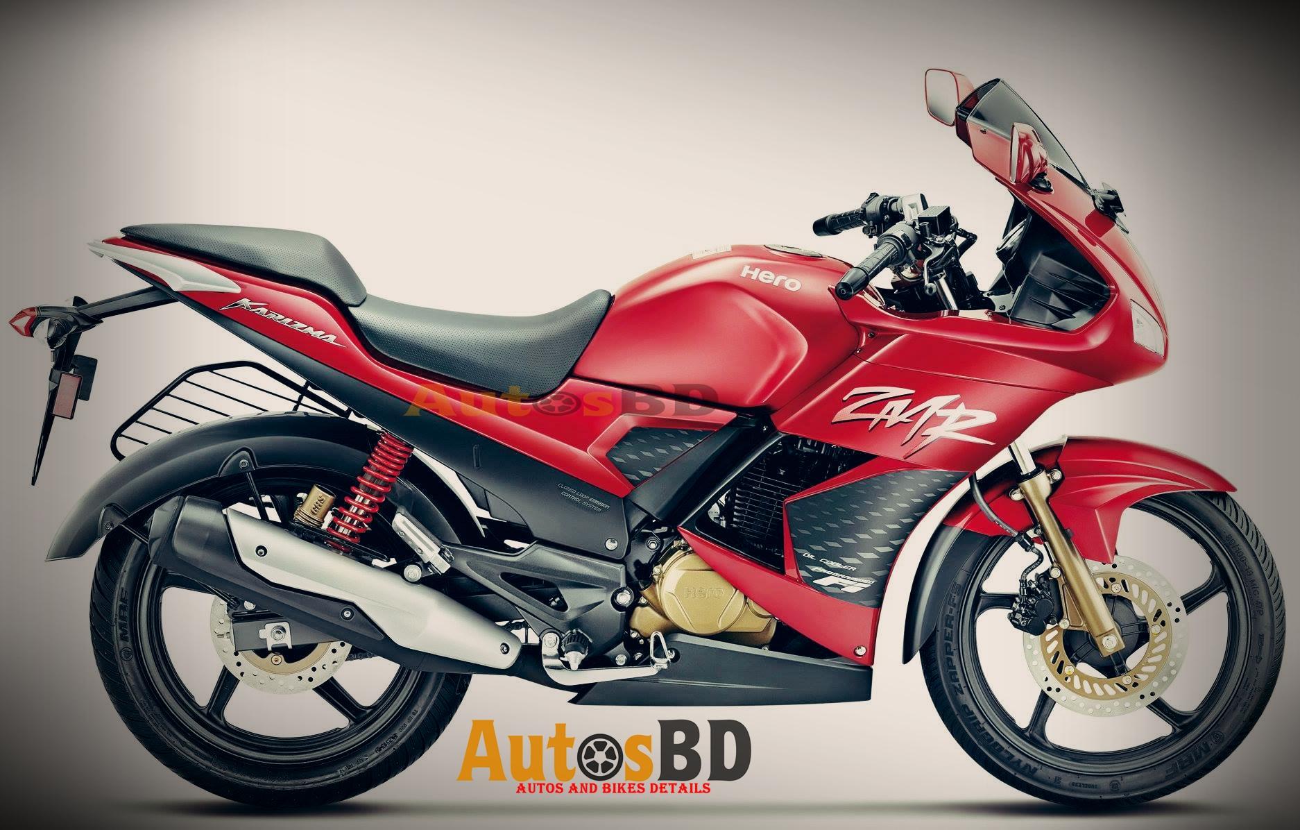 Hero Karizma ZMR Version 2.0 Motorcycle Specification