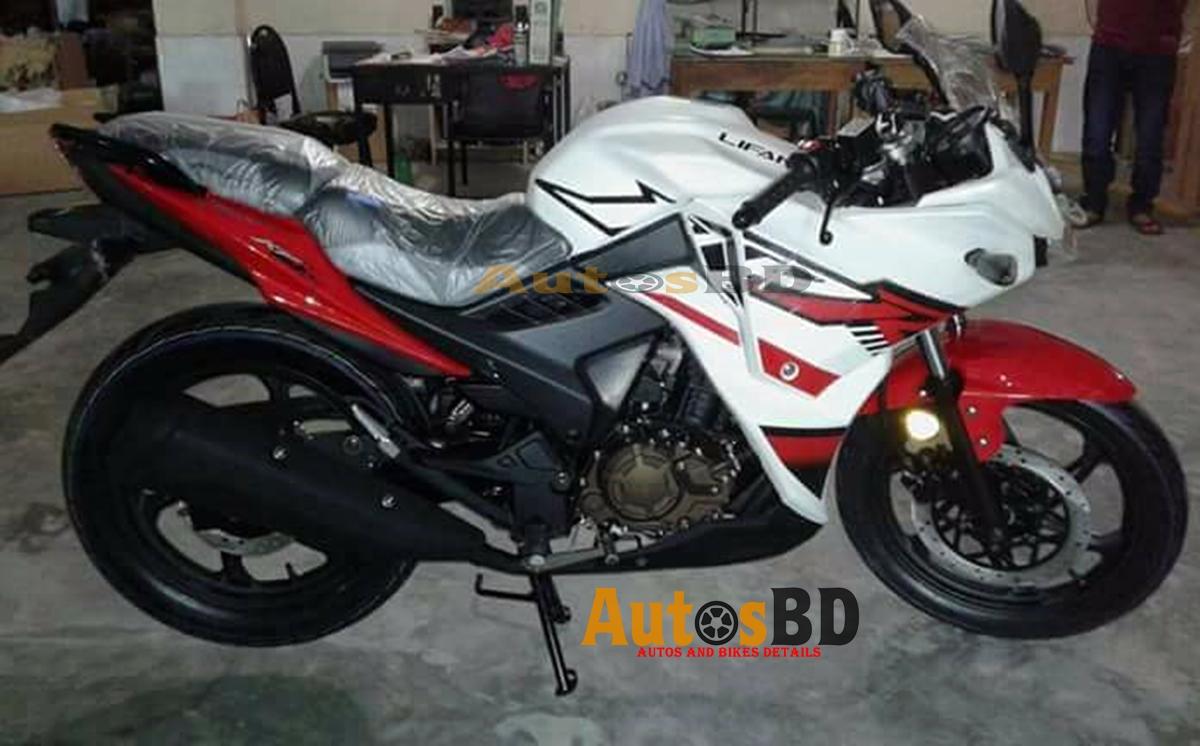 Lifan KPR 150 White Red Price in Bangladesh