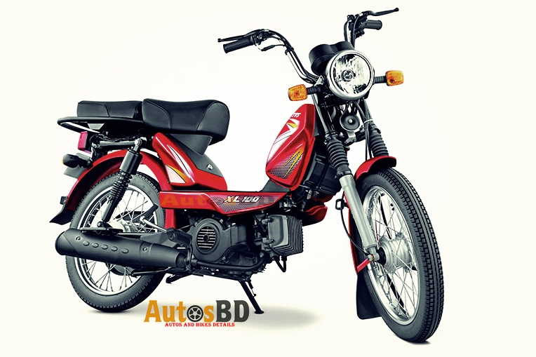 TVS XL 100 Motorcycle Specification