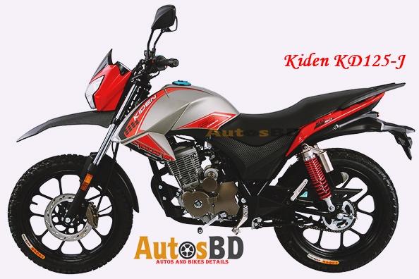Kiden KD125-J Motorcycle Specification