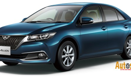 Toyota Allion A15 Car Specification