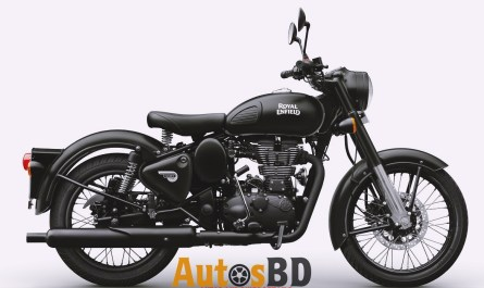 Royal Enfield Classic 500 Rear Disc (Stealth Black) Motorcycle Specification