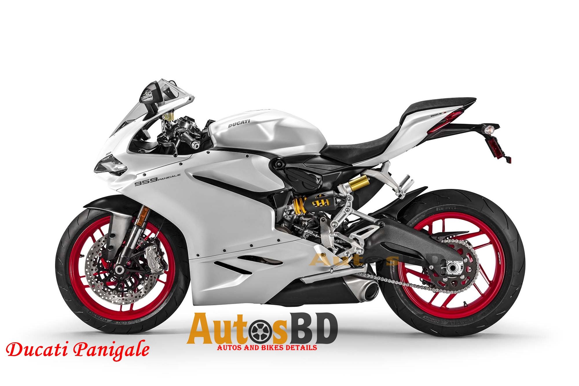 Ducati Panigale Motorcycle Specification