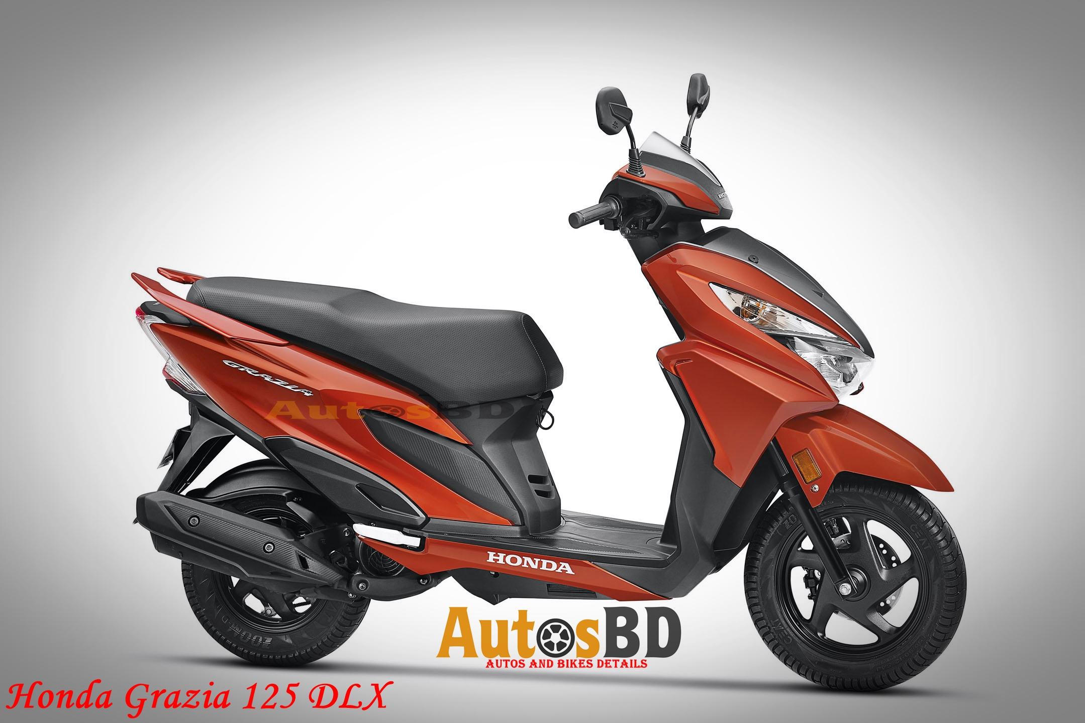 Honda Grazia 125 DLX Motorcycle Price in India