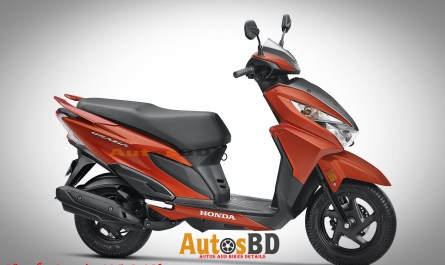Honda Grazia 125 DLX Specification