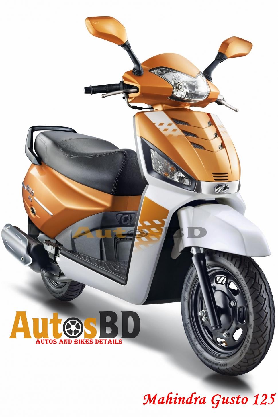Mahindra Gusto 125 Motorcycle Price in Bangladesh