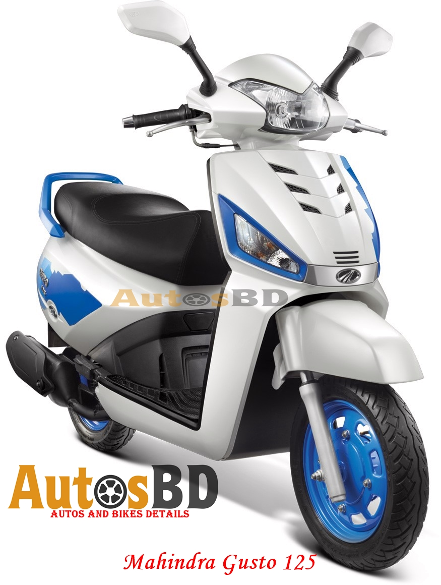 Mahindra Gusto 125 Motorcycle Specification