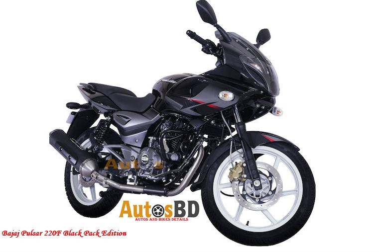 Bajaj Pulsar 220F Black Pack Edition Price in India