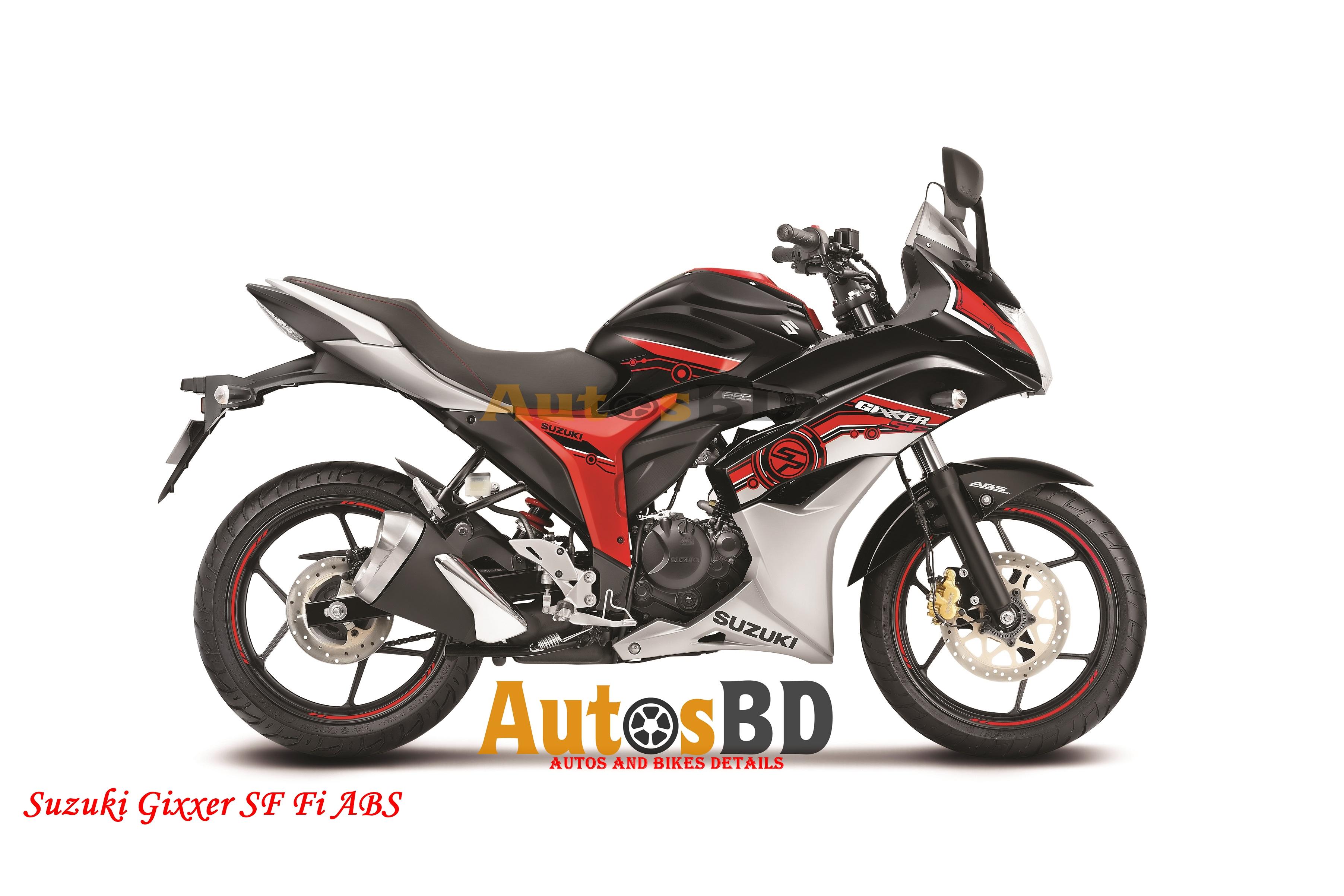 Suzuki Gixxer SF Fi ABS Motorcycle Price in Bangladesh