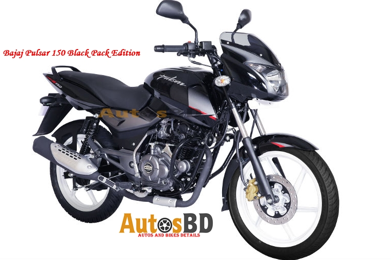 Bajaj Pulsar 150 Black Pack Edition Motorcycle Specification
