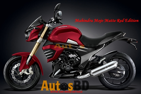Mahindra Mojo Matte Red Edition
