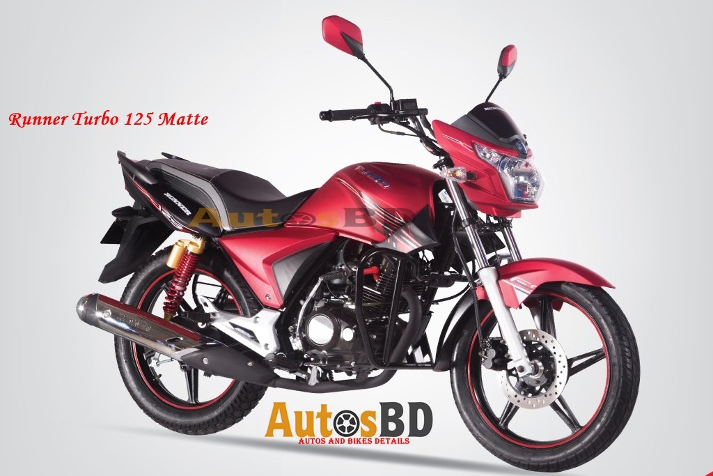 Runner Turbo 125 Matte Price in Bangladesh