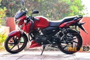 TVS Apache RTR 160 Motorcycle Price in Bangladesh
