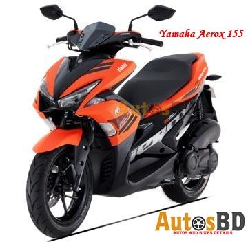 Yamaha Aerox 155 Specification