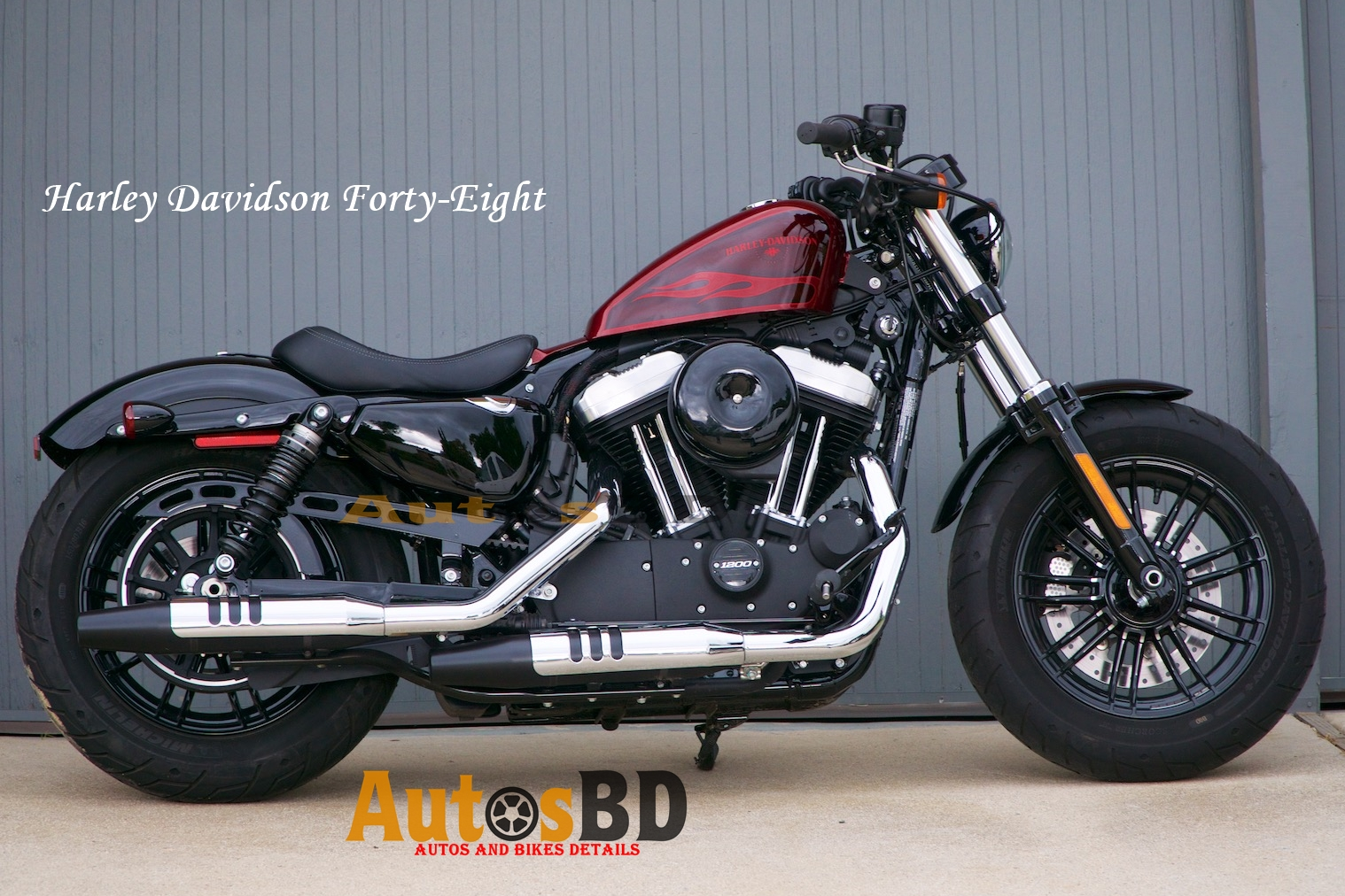 Harley Davidson Forty-Eight Motorcycle Price in India