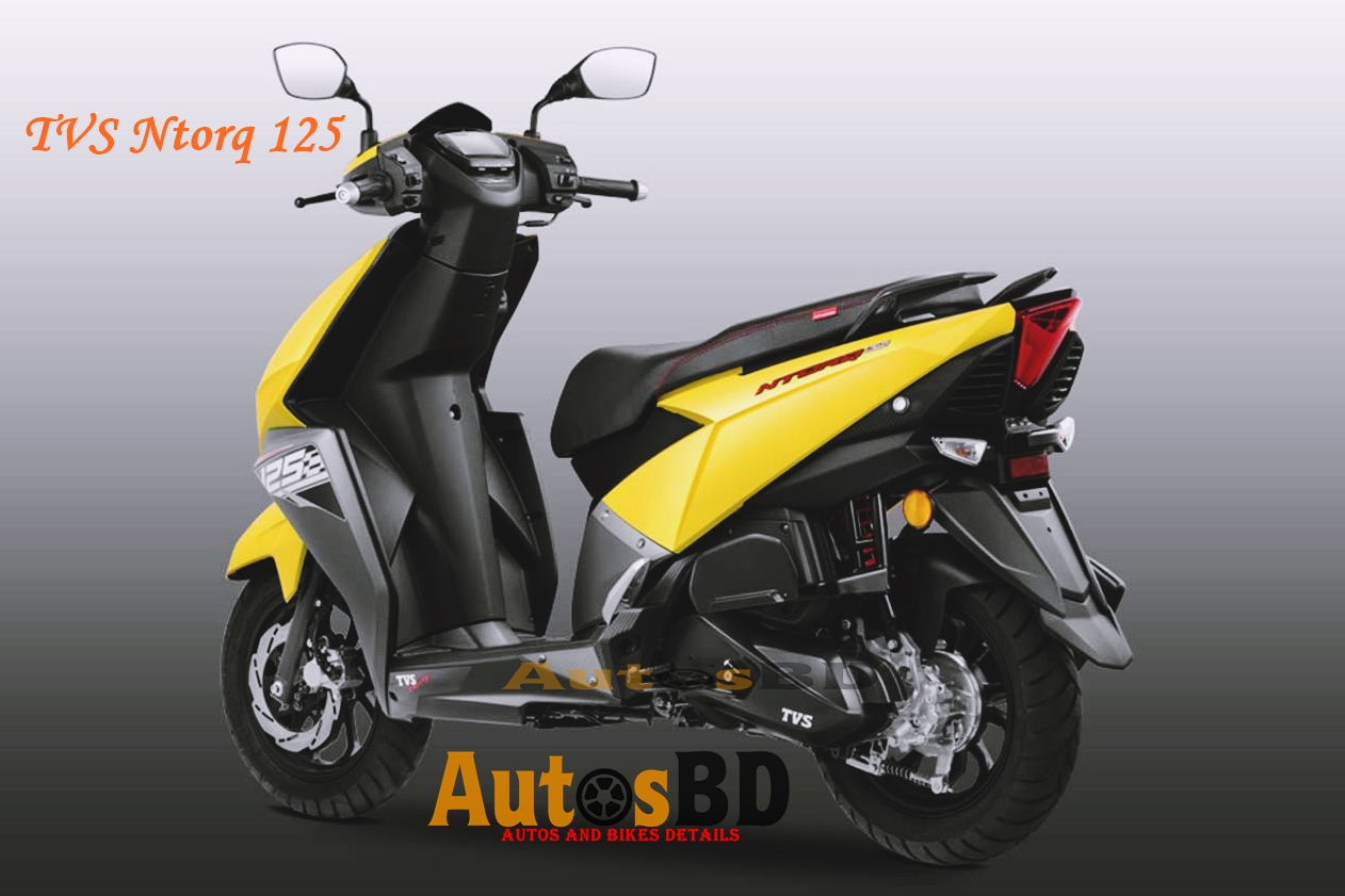 TVS Ntorq 125 Motorcycle Price in India