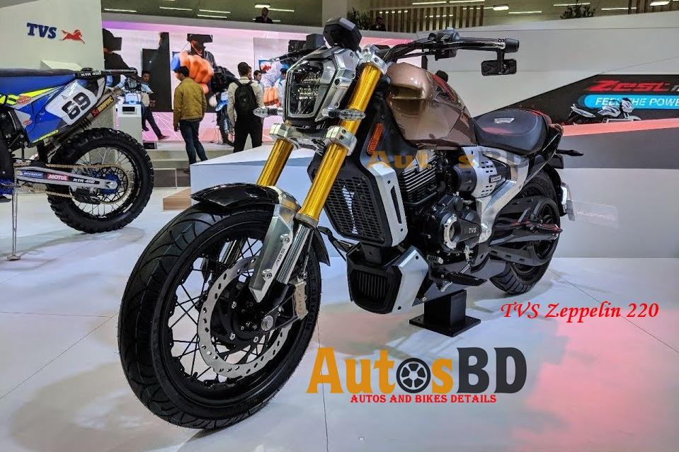 TVS Zeppelin 220 Motorcycle Price in India