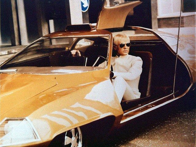 U.F.O. Ed Straker's car