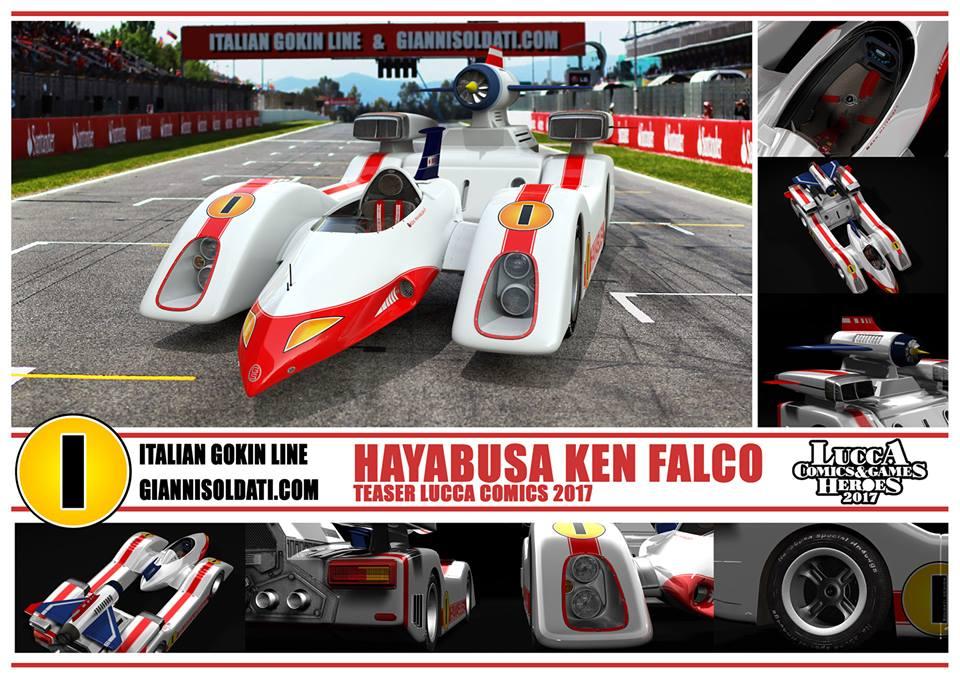 Machine Hayabusa Ken Falco