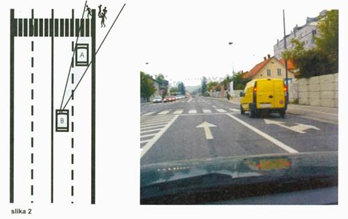 Preglednost na raskrižju Autoškola Capitol Hill Zagreb