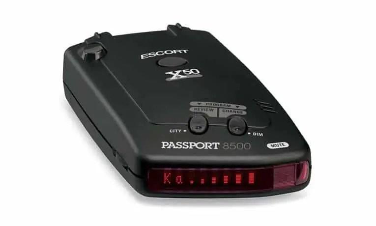 Escort Passport 8500 X50 Review